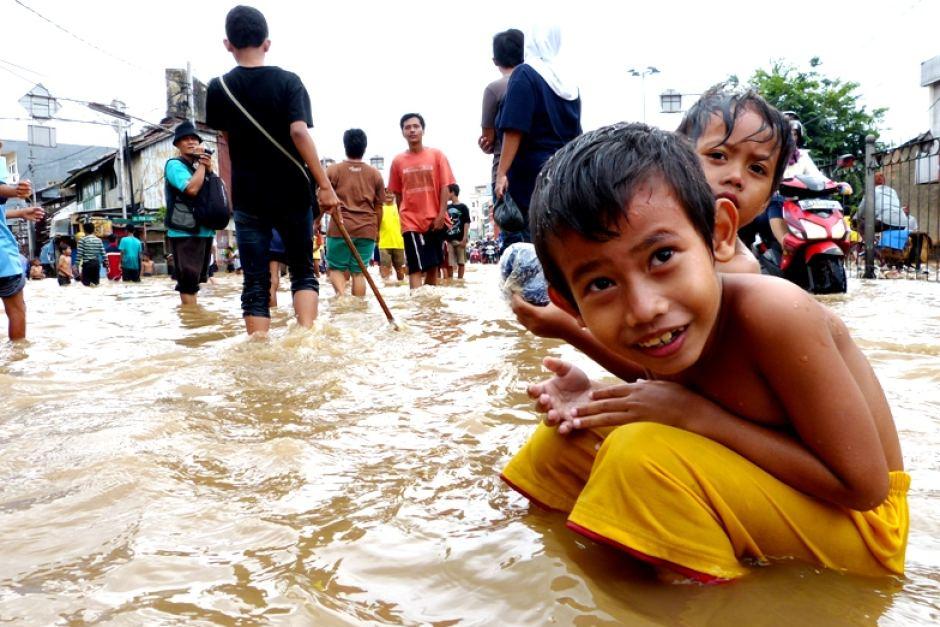 UNICEF Jakarta Flood