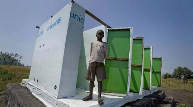 UNICEF Promoting the Importance of Toilets and Sanitation on World Water Day