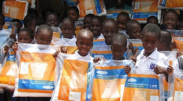 UNICEF: Donation From Japan Helps Send Mosquito Nets to Ghana
