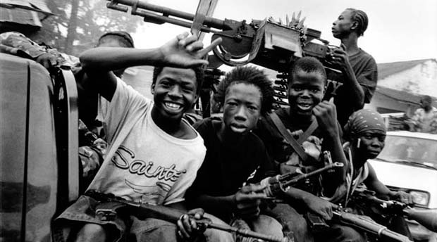 UNICEF: Liberia's Child Soldiers