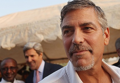 George Clooney Reporting From Darfur Part 2