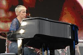 Scenes From Live8 Annie Lennox