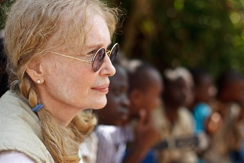 UNICEF Mia Farrow Visits Cental African Republic